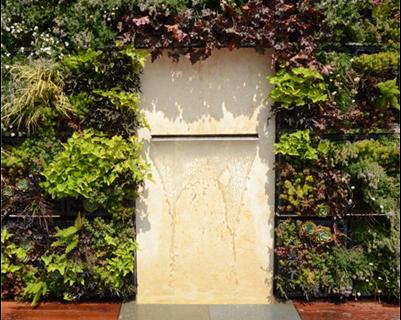Green Wall Fountain